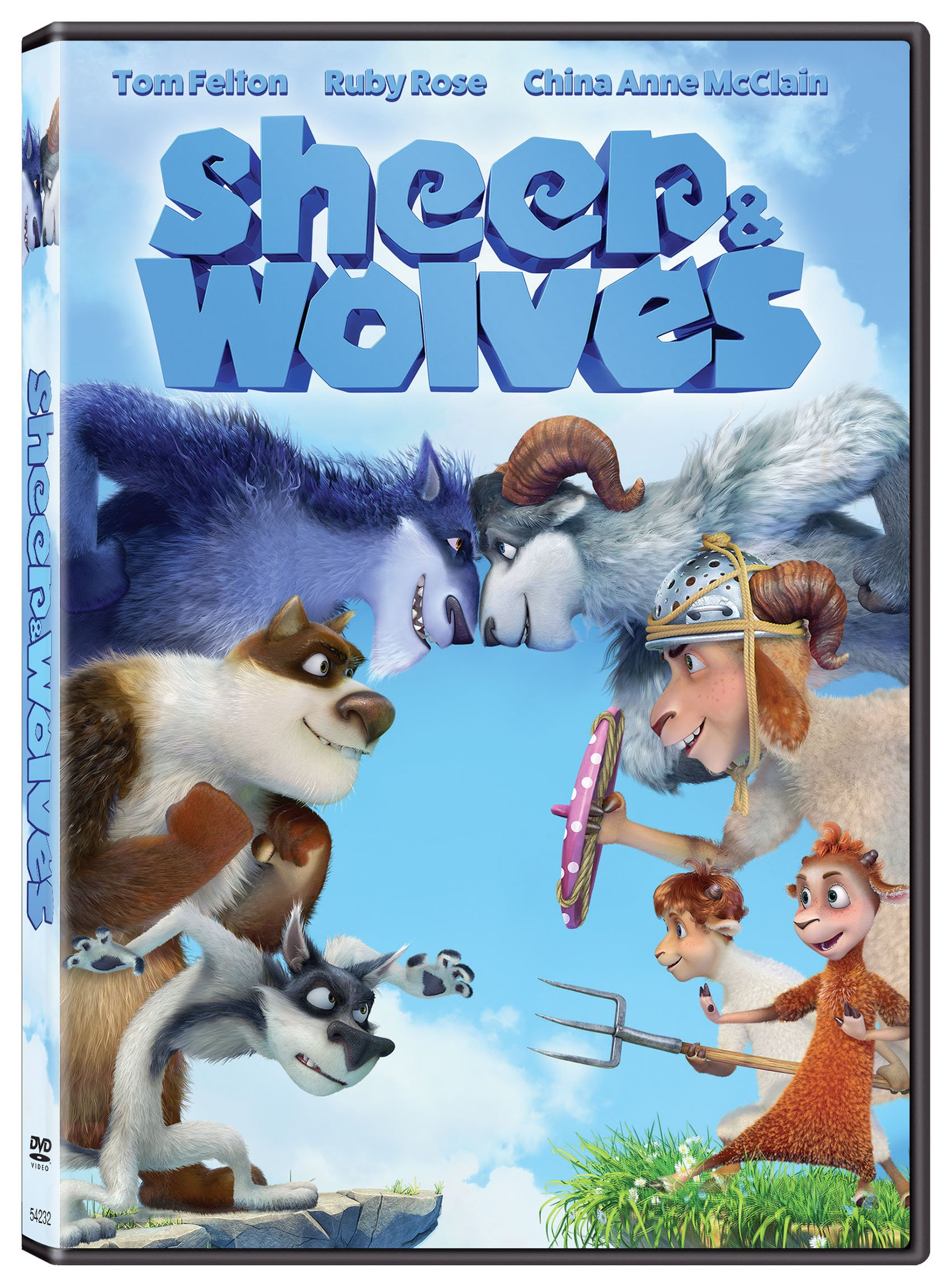 DVD : Sheep And Wolves (Widescreen, Dolby, AC-3)