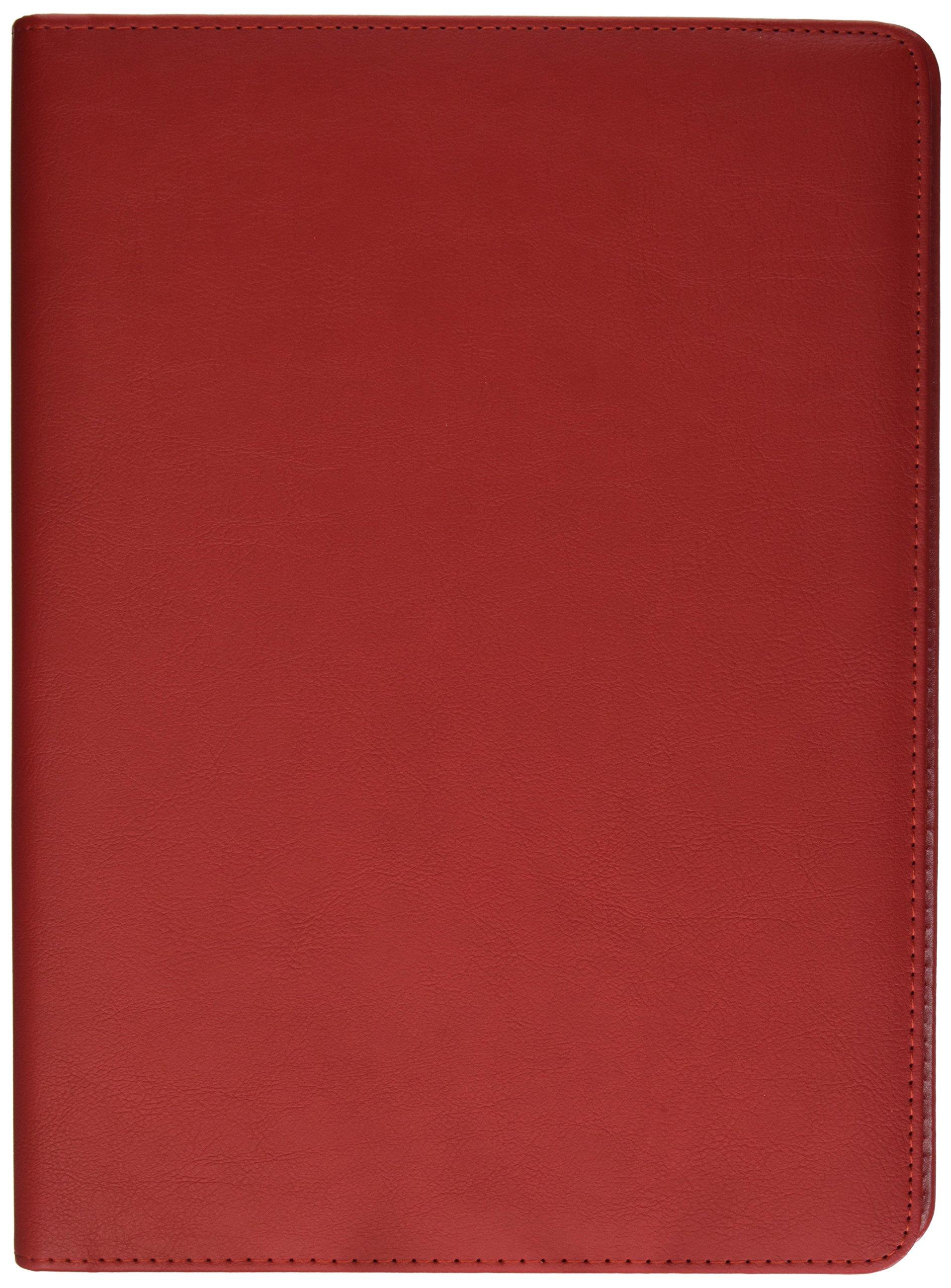 Buyinhouse Professional Office/Business Documents Folder Resume Binder Portfolio Organiser, Red