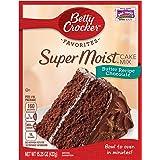 Betty Crocker Super Moist Cake Mix Butter Recipe Chocolate 15.25 oz Box (pack of 6)