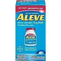 270-Count Aleve Soft Grip Arthritis Cap Caplets