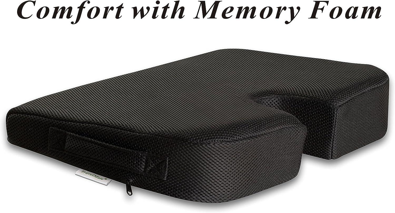 TravelMate Large Medium-FIRM Wellness Seat Cushion - 17 x 13 x 3 inches