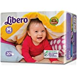 Libero Medium Open Diaper (20 Counts)
