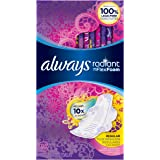 Always Radiant Regular Feminine Pads with Wings, Scented, 30 Count - Pack of 3 (90 Total Count)