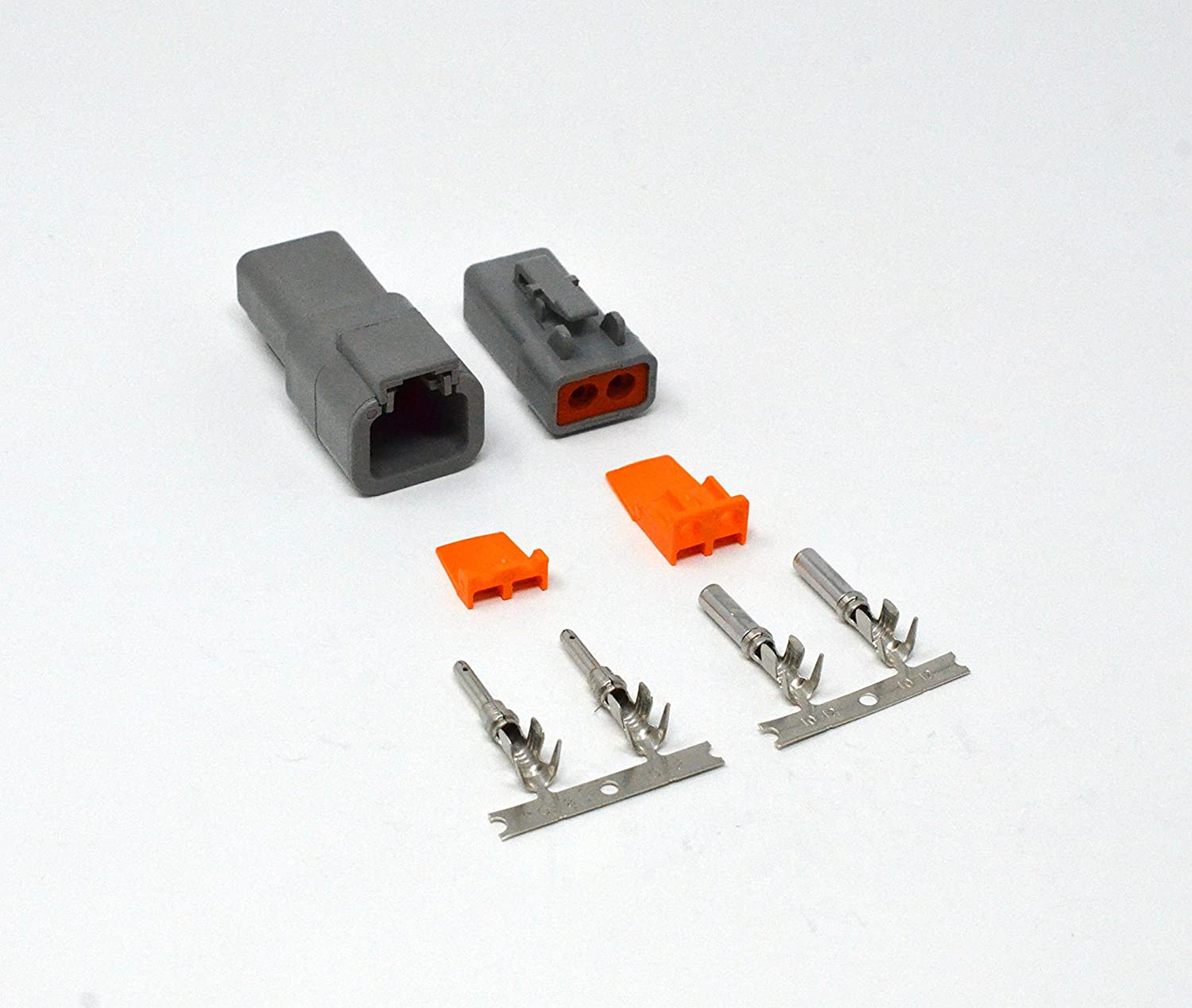 2 Way hembra DTP Series macho Multi Listado Completo Kit Enchufe Conector Deutsch