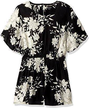 d39b626e1c8 Amazon.com  Billabong Girls  Big Night Flower Romper  Clothing