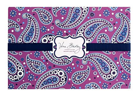 d4b0c0909761 Image Unavailable. Image not available for. Color  Vera Bradley Under Cover  Laptop Skin in Boysenberry