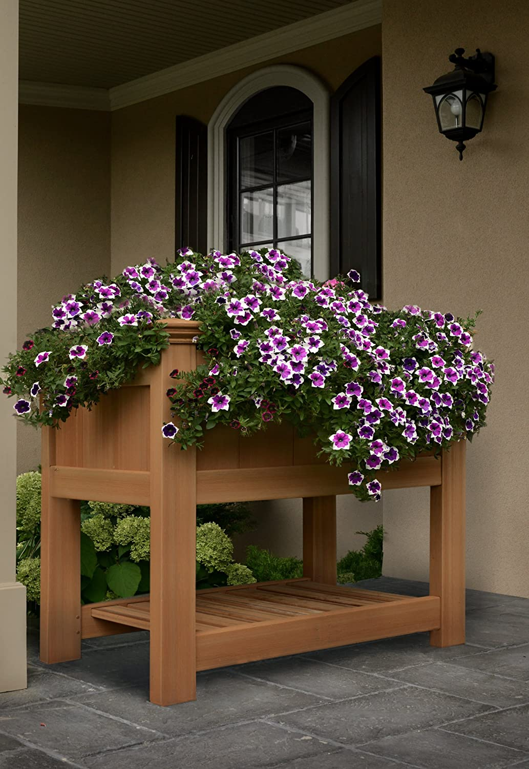 Bloomsbury 36 W x 24 L Composite Vinyl Raised Planter