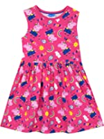 Peppa Pig Girls Peppa Pig Dress Ages 18 Months to 8 Years