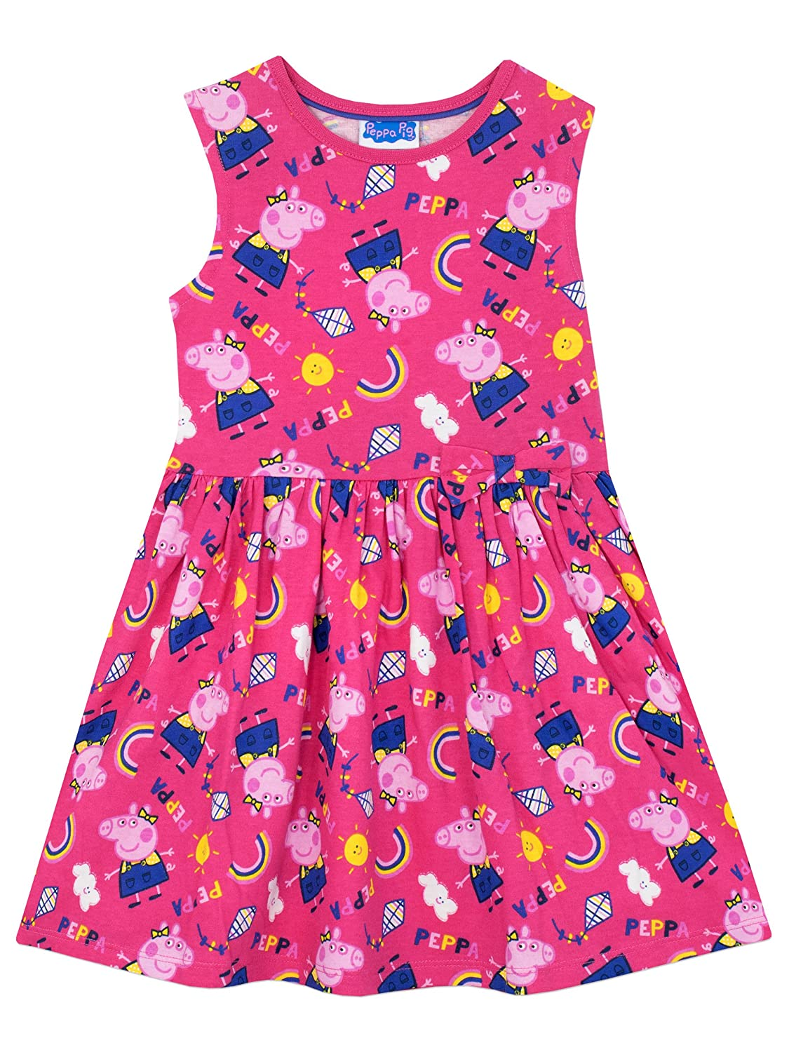 Peppa Pig Girls Dress Ages 18 Months To 8 Years