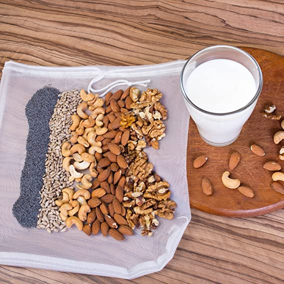 Tuerca de leche bolsa - mejor reutilizable (12
