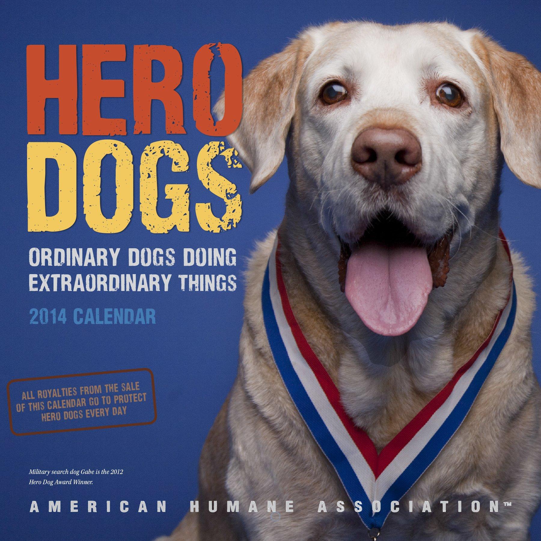 Hero Dogs 2014 Wall Calendar pdf epub