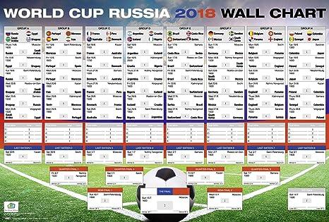 La Copa del Mundo Rusia 2018 en | con todos los grupos y partidos | xl
