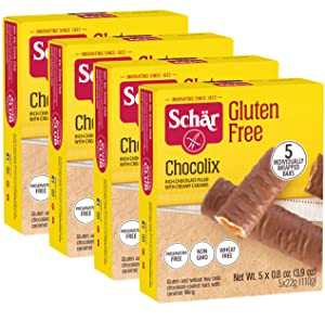 Schar Gluten Free Chocolix 110g (Pack of 4)