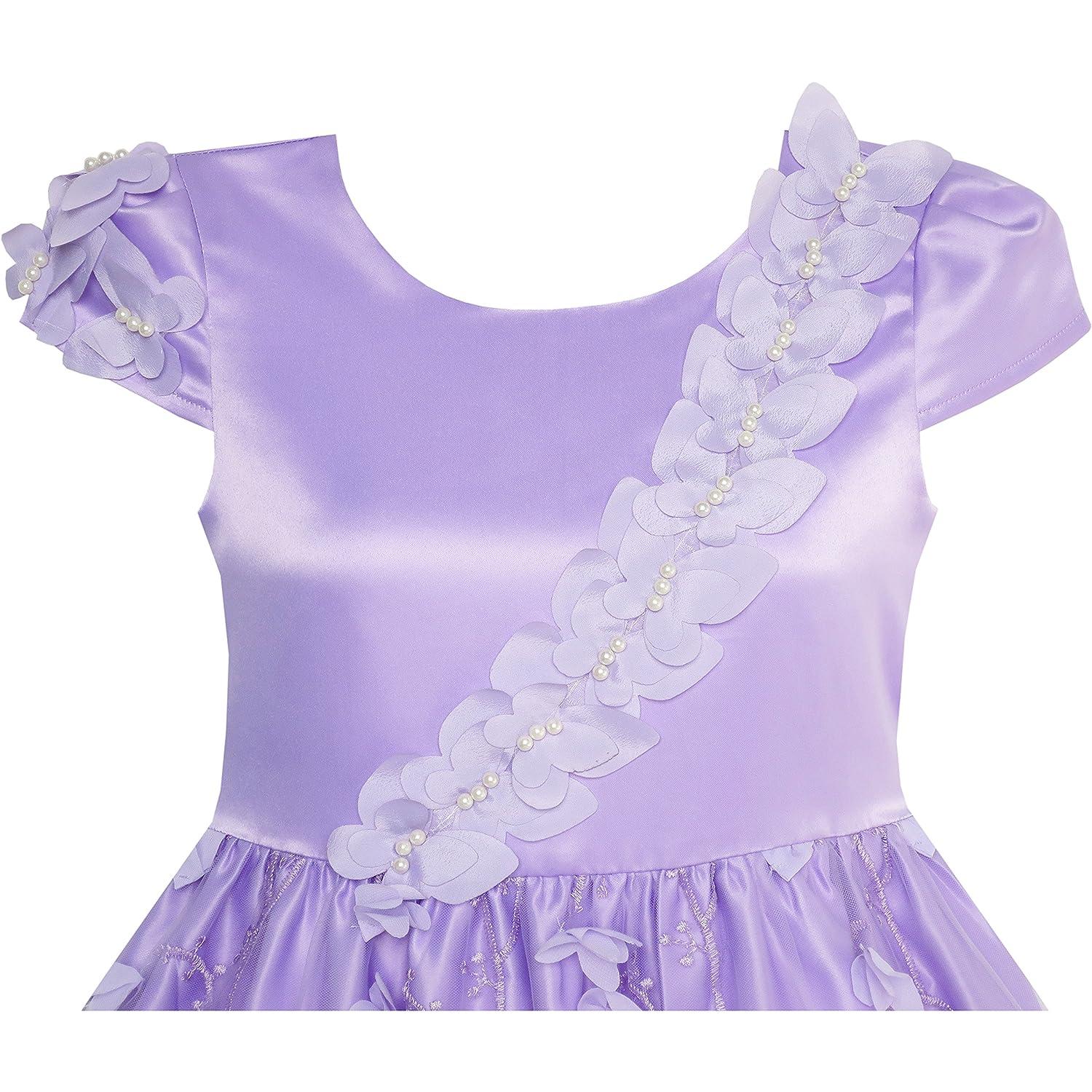 Atractivo Vestido De La Dama De Honor De La Mariposa Embellecimiento ...