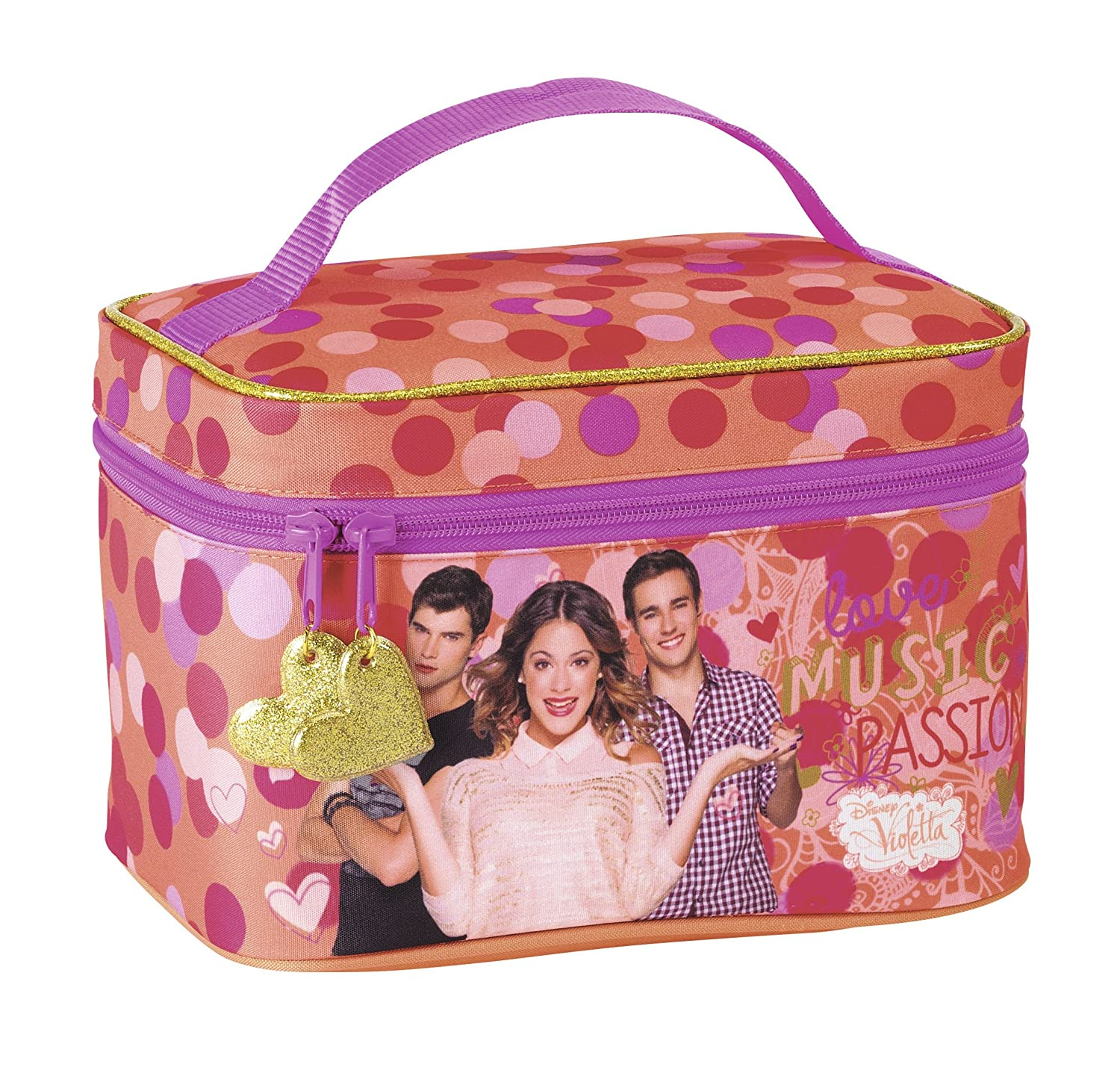 BEAUTY CASE VIOLETTA BORSA NUOVA ORIGINALE DISNEY BAG TRACOLLINA REGOLABILE safta