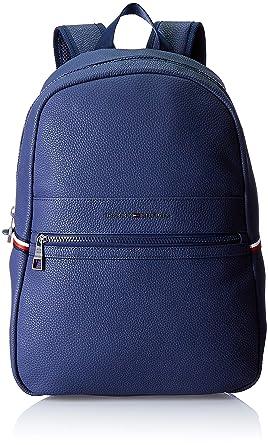 9688d560 Tommy Hilfiger Essential Backpack Ii, Men's Backpack, Blue (Tommy Navy/Core  Stp