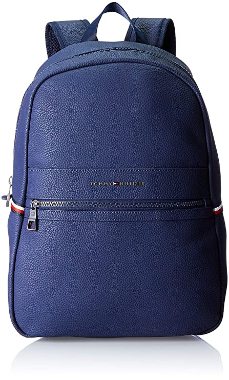 Tommy Hilfiger - Essential Backpack Ii, Mochilas Hombre, Azul (Tommy Navy/Core Stp), 15x42x30 cm (B x H T): Amazon.es: Zapatos y complementos