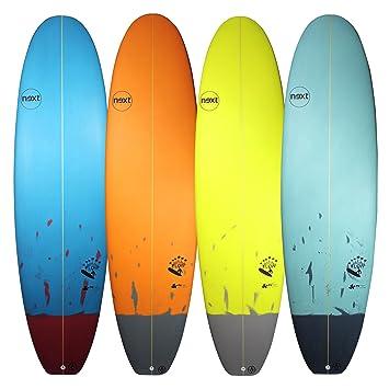 Next flujo Mini Mal sintética rendimiento tabla de surf – varios colores/tamaños 7 ft