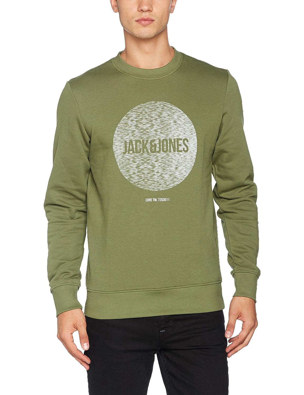 Neck Shirt Vêtements Accessoires Crew Jcobak Homme Et Sweat Jones amp; Jack Whs n0aqXUX