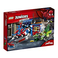 LEGO Juniors/4+ Marvel Super Heroes Spider-Man vs. Scorpion Street Showdown 10754 Playset Toy