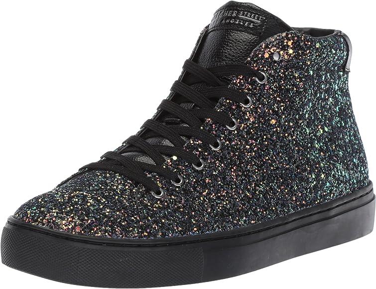 Side Street-Rock Glitter Sneaker, black