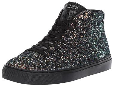 696398cf63d Skecher Street Women s Side Street-Rock Glitter Sneaker