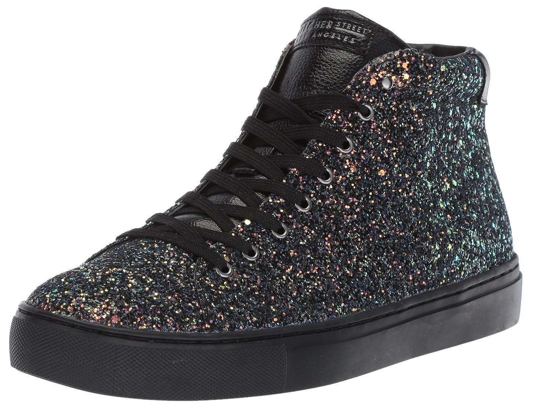Skechers Women's Side Street-Rock Glitter Sneaker B0742T9PVB 6 B(M) US|Black/Black