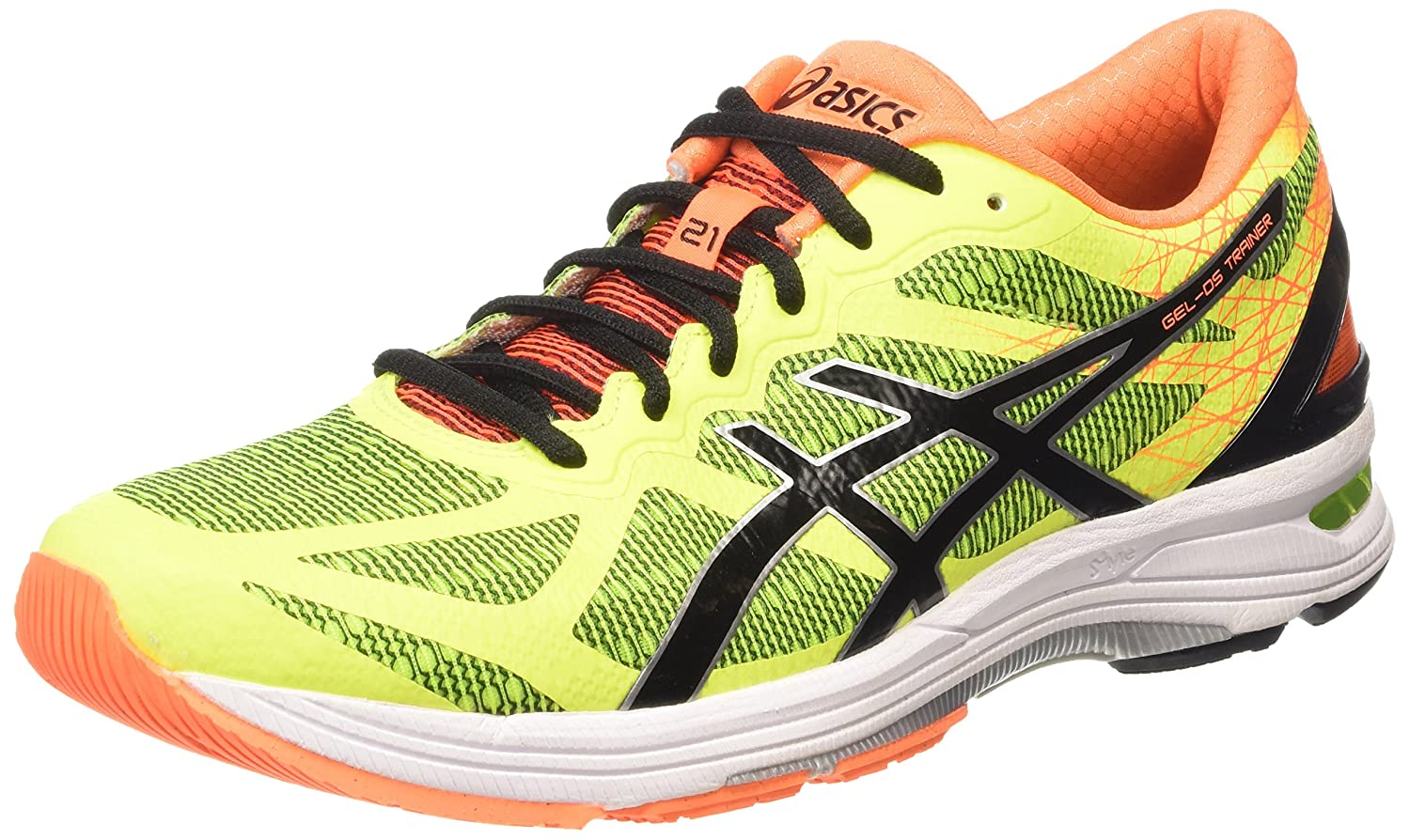 Asics Gel-DS Trainer 21, Scarpe Running Uomo, FlashYellow/Black/HotOrange:  Amazon.it: Scarpe e borse