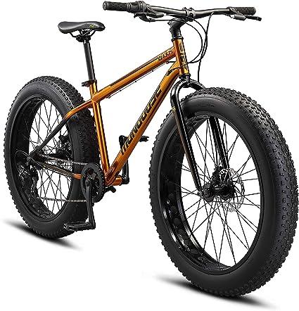 Amazon Com Mongoose Kong Fat Tire Mountain Bike For Kids 20 Inch Wheels Sports Outdoors