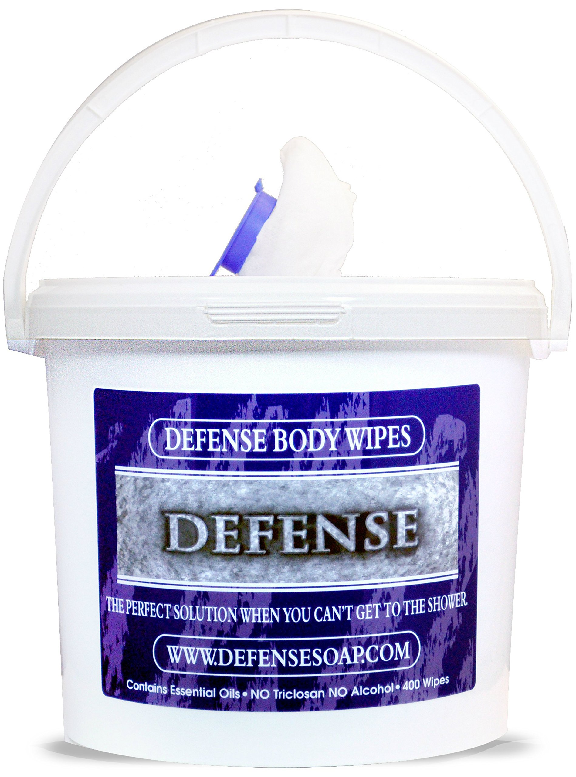 Defense Soap Body Wipes 400 Count Tub