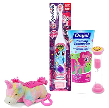 Bright Smile Oral Hygiene Bathroom Gift Set! Toothbrush,