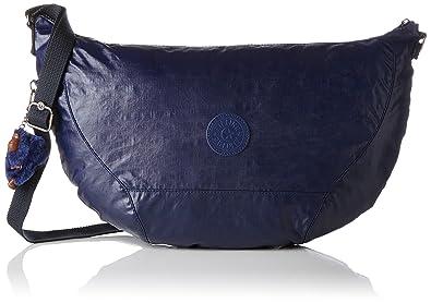 Kipling Nille, Sacs portés épaule femme, Blau (Lacquer Indigo), 48x30x0.1 cm (B x H T)