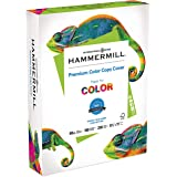 Hammermill, 122549, Premium Color Copy Cover, 100 Bright, 60lb, 8.5 x 11, 250/Pack, Sold As 1 Pack