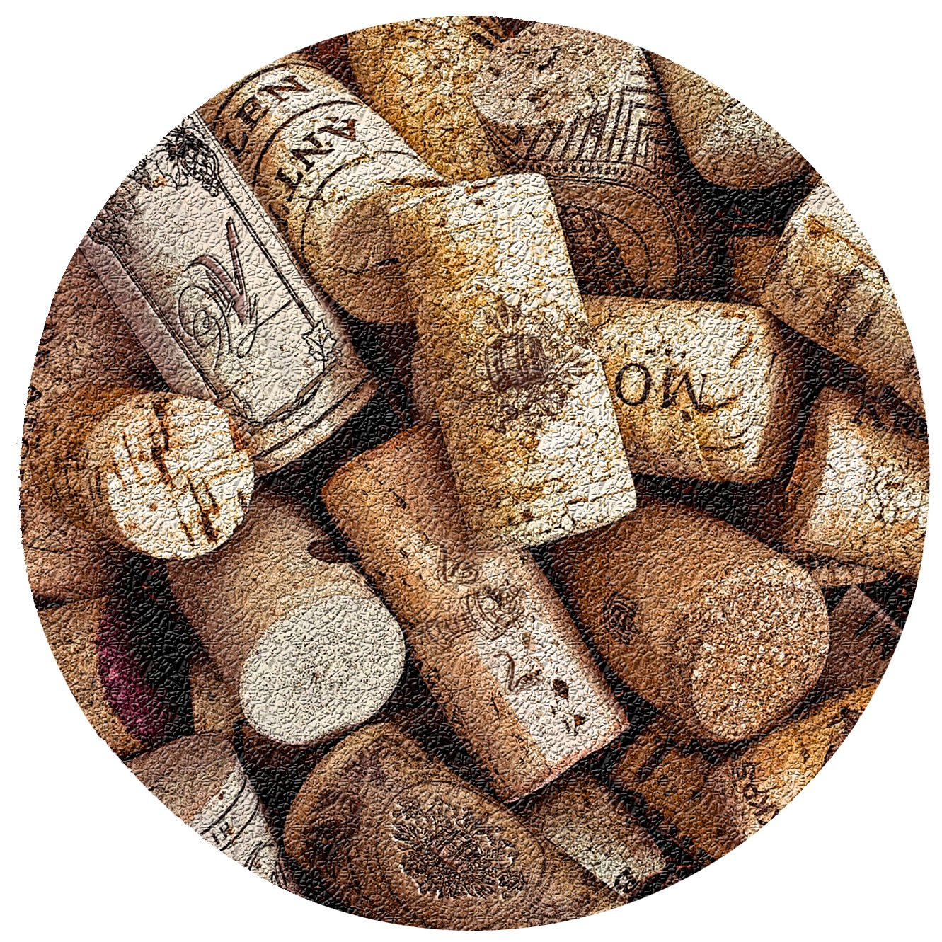 Thirstystone Corks Cork Coaster Set by Thirstystone