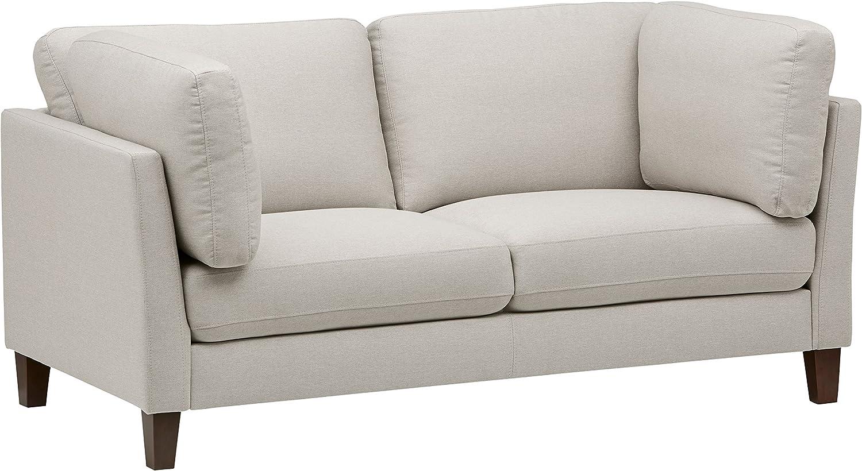 Marchio  -/Rivet ottomana a divano-letto larghezza 122 cm stile moderno colore grigio scuro