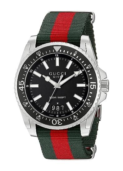 Reloj Gucci para Hombre YA136206  Amazon.es  Relojes 67341a18116