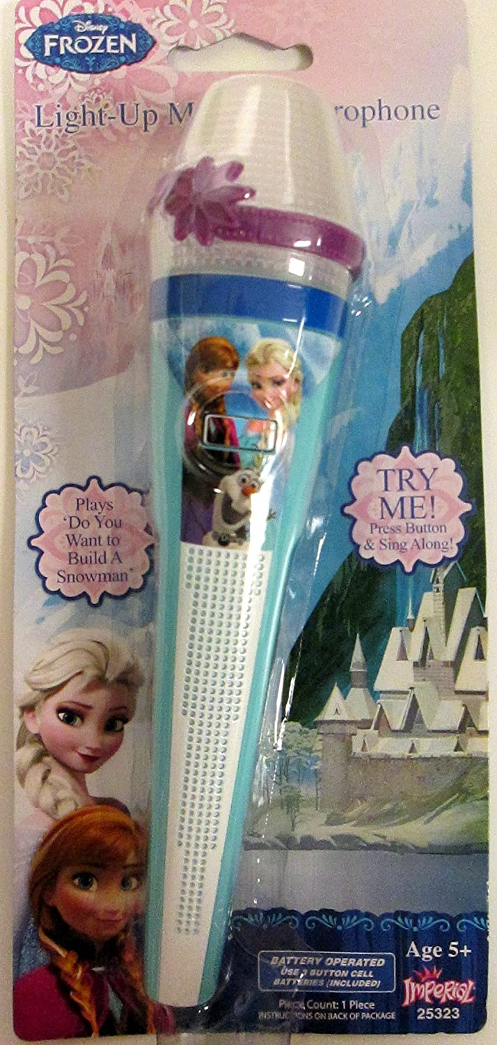 Disney Frozen Light-up Microphone Blue Version Imperial