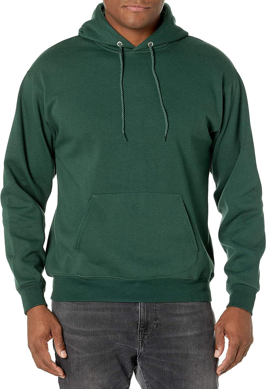 Hanes Men's Pullover Eco-Smart Fleece Hooded Sweatshirt