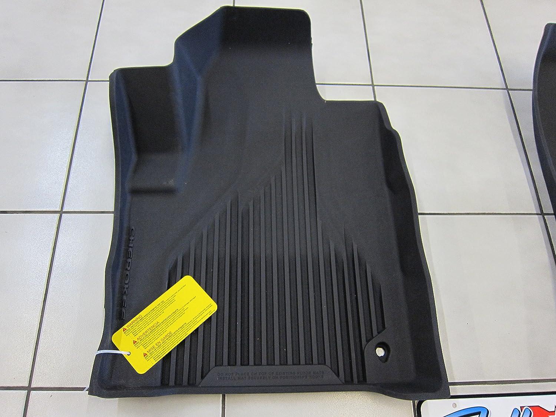 Floor mats jeep cherokee 2015 - Amazon Com Jeep Cherokee Black All Weather Rubber Floor Liner Slush Mat Set Mopar Oem Automotive
