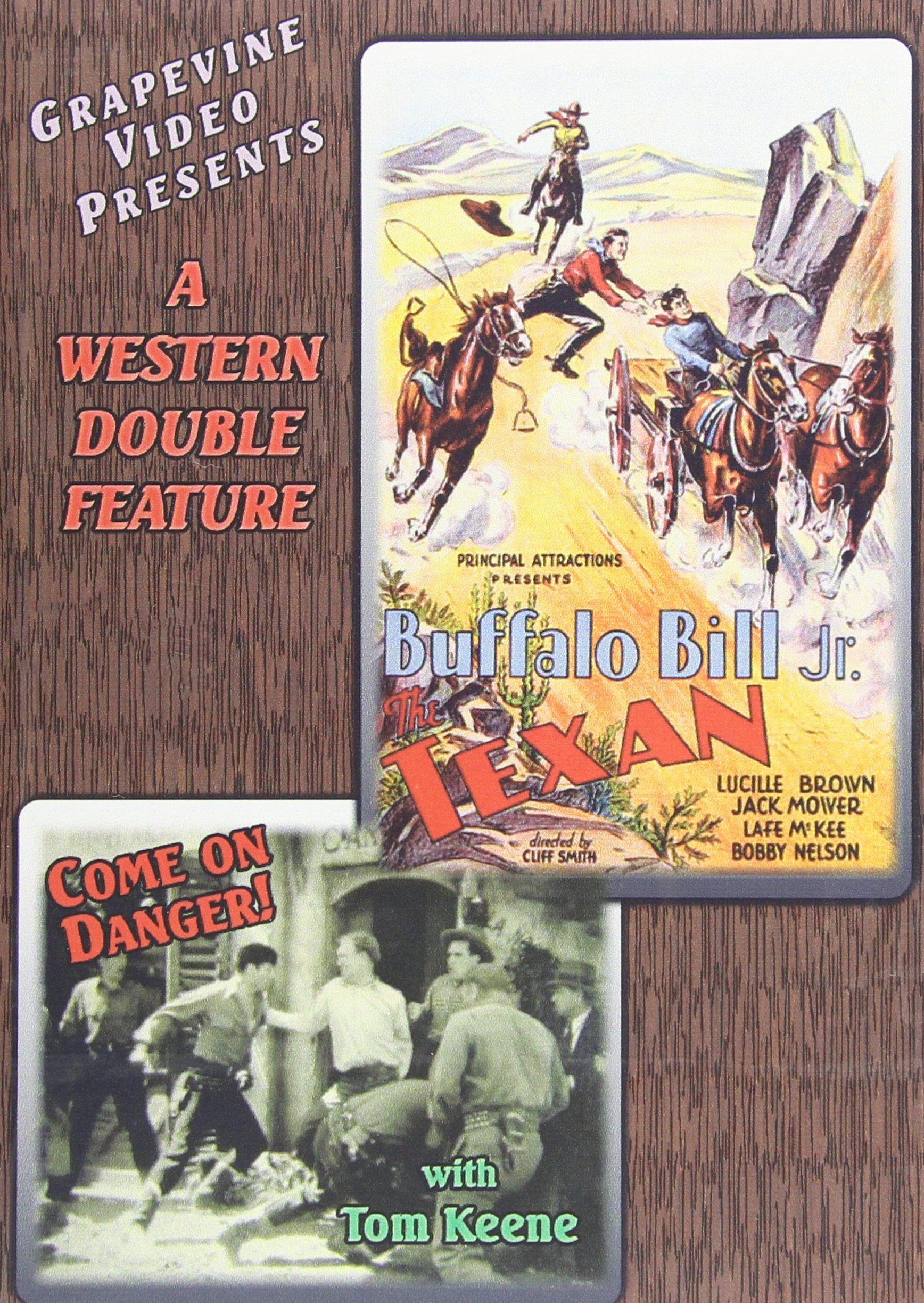 DVD : Texan / Come On Danger (1932) (DVD)