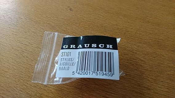 Grausch ST101 Aguja tocadiscos diamante de repuesto para RPS101 ...