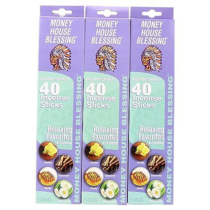 amazon com money house blessing natural incense sticks packs of 40
