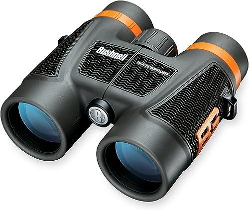 Bushnell Bear Grylls 10 x 42mm Roof Prism Waterproof Fogproof Binoculars, Black