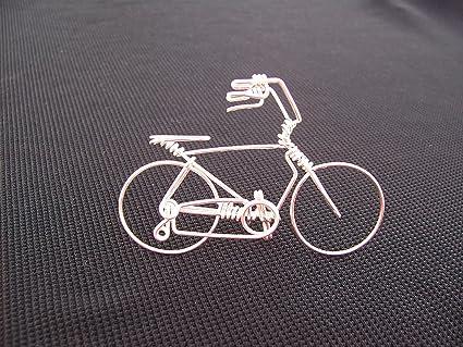 Bike art sculpture