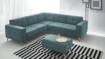 Bobochic Luna sofá de Esquina Convertible panorámica ...