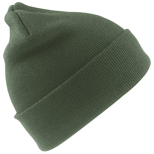 Result Junior Unisex Wooly Winter Ski Thermal Hat (One Size) (Bottle Green 625967d50c7