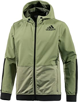adidas Workout FZ Hood Sudadera, Hombre, Verde (Vertie/Negro), XS: Amazon.es: Deportes y aire libre