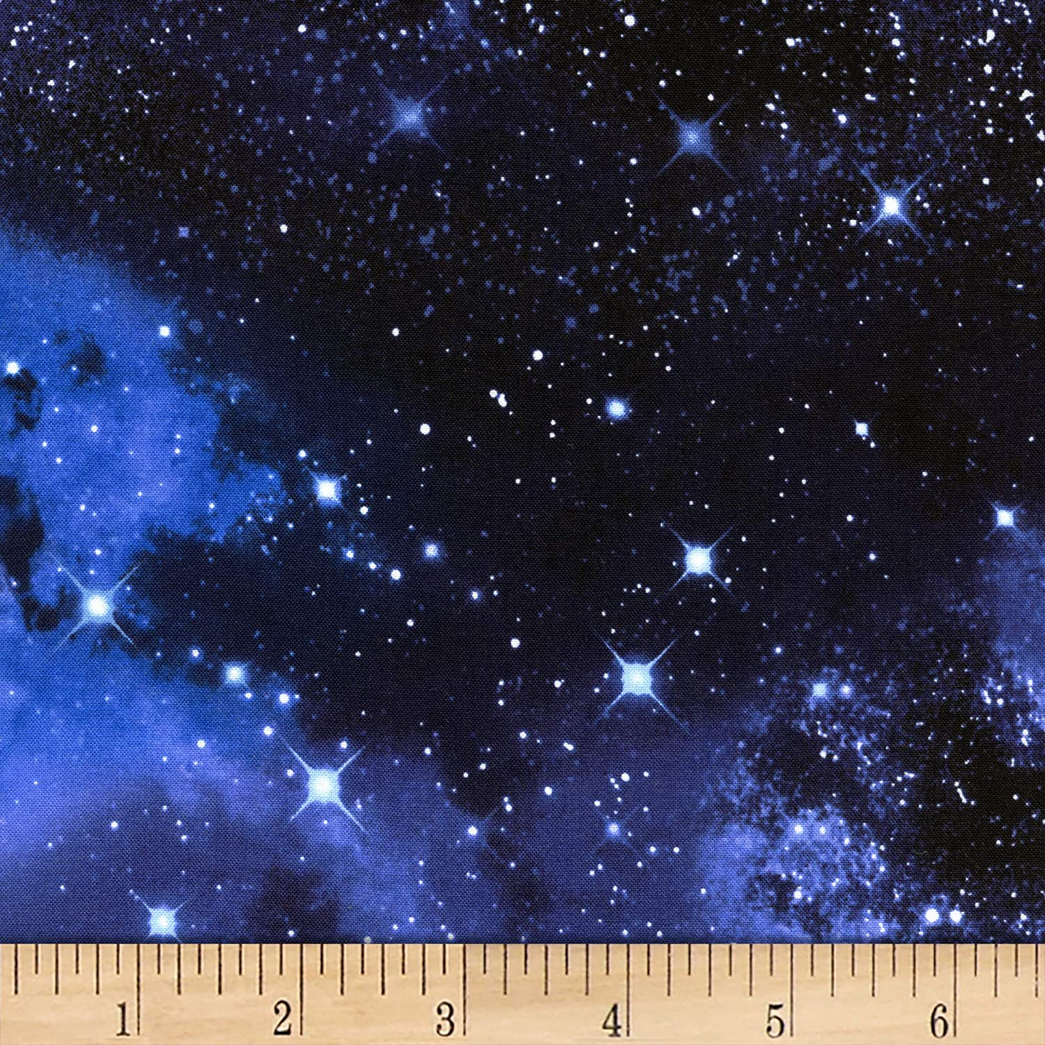 Timeless Treasures Space Galaxy Fabric by Timeless Treasures   B00CKXQ8LA