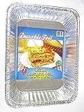 Disposable Aluminum Giant Lasagna Pan - 3 Pans (13.375 x 9.625 x 2.875) by DURABLE FOIL