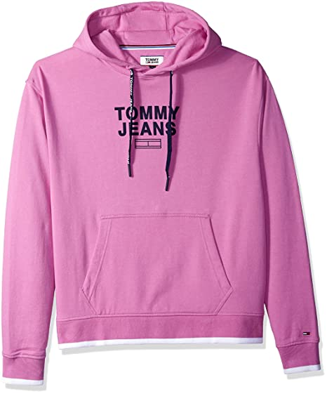 a86268ab Tommy Jeans TJM Graphic Hoodie bodacious: Amazon.de: Bekleidung